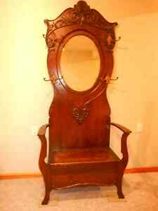 Great OLD antique  Hallstand