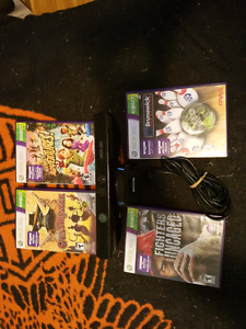 Kinect system xbox 360 and 4 games included