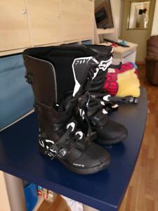 Fox comp3 motorcycle boots