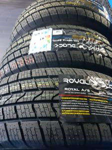 NEW 205/55/R16 COMFORSER ALL WEATHER TIRES