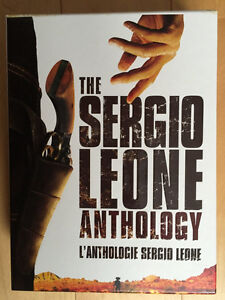 The Sergio Leone Anthology DVDs