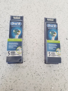 Oral B Brushheads Floss Action 2 x 5 pack
