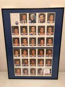 LOOK EXTREMELY RARE OILERS 81-82, RED ROOSTER SETS