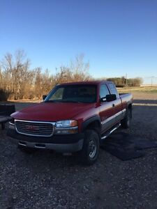 2001 GMC 2500 Duramax 4X4 engine issues. PARTING OUT