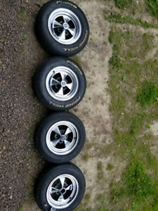 RARE 4 bolt Cragars style 13 in. wheels