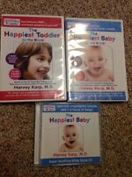 The Happiest Baby/Toddler On the Block DVDs and sound CD