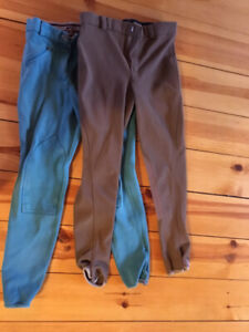 2 pairs of size S riding breeches, Premiére and Tuff Rider