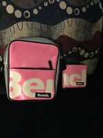 Bench pink body bag and wallet