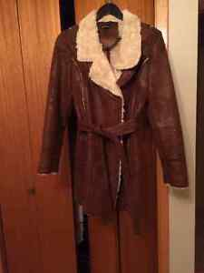 Le Chateau Winter Dress Coat with Lining