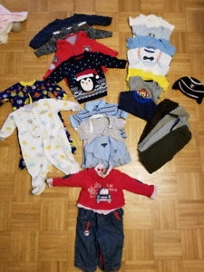 Baby boy clothing lot. 6-9 months