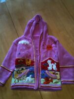Girls 3-4 knitted jacket