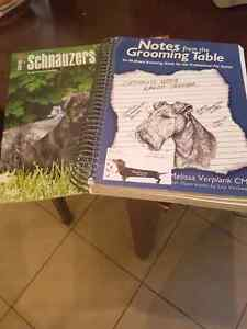 Grooming book and 2016 schnauzer calendar