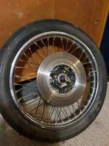 Wheel and forks for cb360  Kitchener / Waterloo Kitchener Area image 2