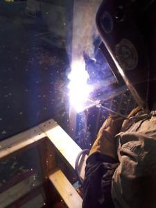 soudure mobile fer forge,rampes escalier clôture réparation