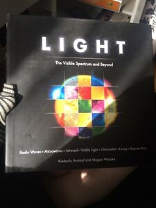 Light the visible spectrum and beyond coffee table book