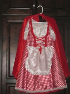 Little red riding hood costume (size 6x)