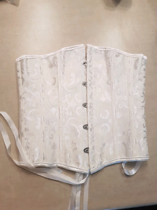 lace up corset waist trainers