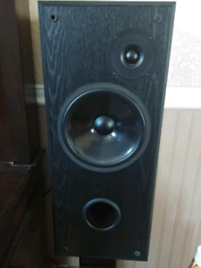 Acoustic Profiles Loudspeakers with stands