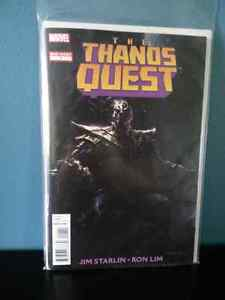 The Thanos Quest MARVEL one-shot