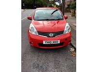 Nissan note 2010,1.4 petrol,with 63000 mileage ,one year mot