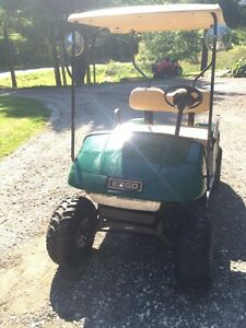 Ez-go lifted golf kart for sale