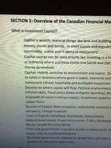 IFIC/IFC (Investment funds in Canada) Chapter/Exam study notes London Ontario image 4