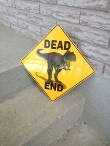 METAL DEAD END SIGN/PICTURE
