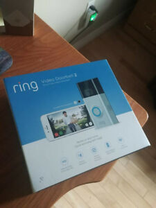 Ring video doorbell 2 1080p HD (Brand new in box)