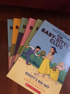 The Babysitters Club set of 6 Graphic Novels