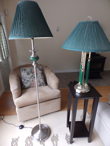 Lamps and Standing Lamp