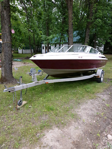 Sold.  Maxum boat and trailer. 18 foot.