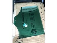 VW Passat 2011 rear passenger window glass