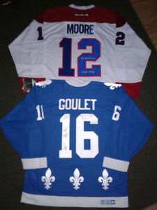 Autographed NHL jerseys for sale or trade..