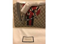 GUCCI Dionysus GG Supreme embroidered bag RRP £2930