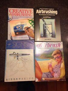 Airbrushing & Pinstriping books