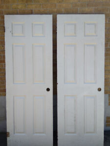 2 Interior Doors, both for $55