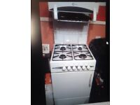 Flavel cooker with grill