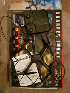 Sharper Image DX-3 Video Drone - Like New Condition