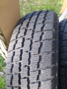 Good Year Weather Master Snow Tires