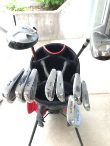 Golf Clubs- Irons and Hybrids