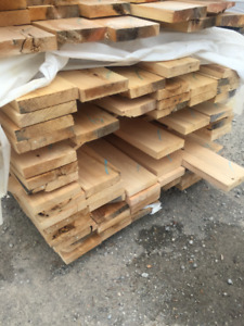 2x8 White Cedar BUNDLES - LUMBER CLEAROUT