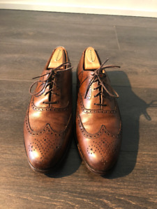 Peal & Co. Cordovan Brogue size 8.5 M Brooks Brothers