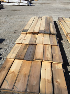 1x8 Pine Tongue & Groove PILE - LUMBER CLEAROUT