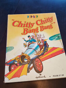 hallmark rouge et or 1968 Chitty Chitty Bang Bang album pop hop