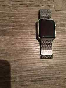 Apple Watch 42m  with stainless Steele band