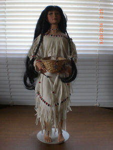 """""""Swirling Waters"""" - Spirits of the Southwest Porcelain Doll"""
