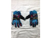 Fox MTB gloves - medium/large (will fit most hands) - Mountain Bike Gloves