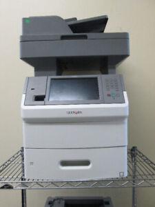Lexmark X654de Monochrome Workgroup Laser Multifunction Printer