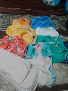 Couch en tissu/Cloth diapers