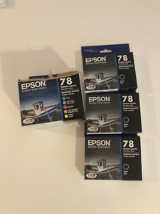 EPSON 78 CARTRIDGE INK - BLACK AND 5 PACK COLOUR
